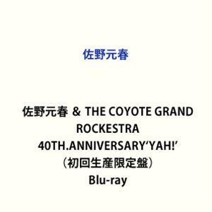 佐野元春 & THE COYOTE GRAND ROCKESTRA 40TH.ANNIVERSARY'YAH!'